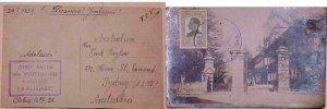 BULGARIA  TO AUSTRALIA 1929 PICTORIAL CANCEL