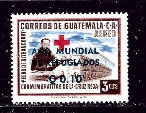 Guatemala C241 MH 1960 overprint