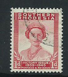 Southern Rhodesia SG 64  VFU
