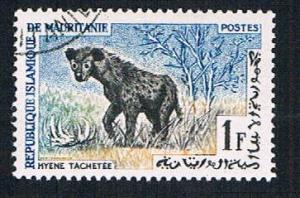 Mauritania 135 Used Spotted hyena (BP10421)
