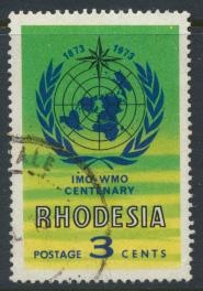 Rhodesia   SG 481   SC# 321   Used IMO / WHO 1973 see details
