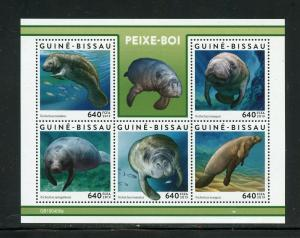 GUINEA BISSAU 2019 DUGONGS SHEET MINT NEVER HINGED