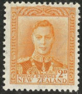 New Zealand Scott 258 MNH** 1947 KGVI stamp