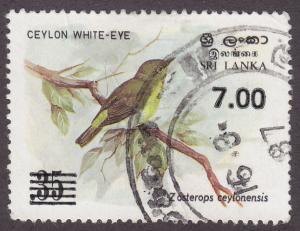 Sri Lanka 780a Ceylon white-eye 1986
