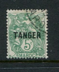 French Morocco #75 used
