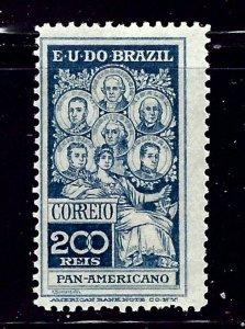 Brazil 191 MH 1909 issue    (ap1191)