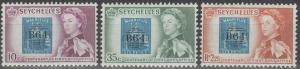 Seychelles #195-7  MNH F-VF (SU554L)