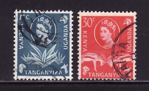 Kenya, Uganda, Tanzania 120, 125 U Queen Elizabeth II
