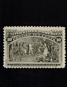Scott #237 F/VF-OG-NH. SCV - $250.00