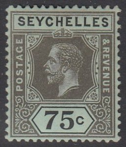 Seychelles 85 MVLH CV $2.25