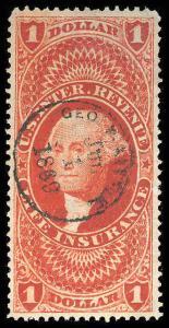 U.S. REV. FIRST ISSUE R71c  Used (ID # 75752)
