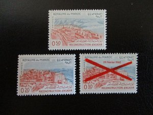 Morocco #94-96 Mint Never Hinged (L7H4) WDWPhilatelic