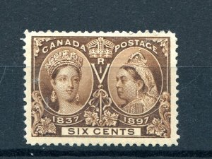 Canada  #55 Mint  XF .- Lakeshore Philatelics