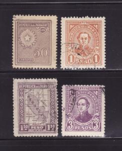 Paraguay 284, 289, 291, 296 U Various (C)