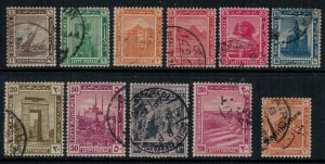 Egypt #50-60  CV $12.40