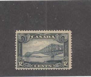 CANADA (MK909) # 156 VF-MNH  12cts QUEBEC BRIDGE /1929 / GREY CAT VALUE $140