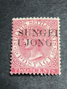 Malaya Sungei Ujong Scott 25 Mint OG CV $110