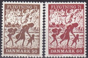 Denmark #479-80 F-VF Unused  (V4945)