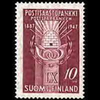FINLAND 1947 - Scott# 264 Postal Saving Bank Set of 1 NH
