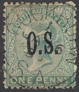 SOUTH AUSTRALIA O68 USED BIN $.60 ROYALTY