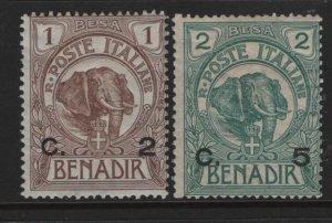 SOMALIA, 10-11, GUM DAMAGE, 1906-07, ELEPHANT