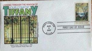 Graebner Chapter AFDCS 4165 Louis Comfort Tiffany Ten Different Covers Windows