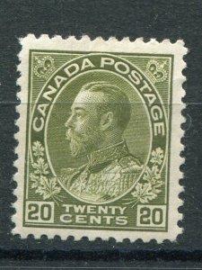 Canada #119   Mint XF    - Lakeshore Philatelics
