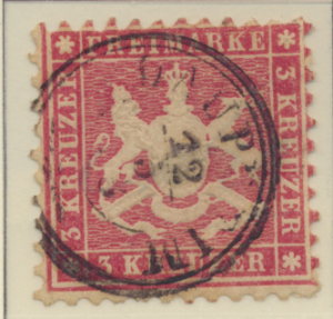 Wurttemberg Stamp Scott #36a, Used - Free U.S. Shipping, Free Worldwide Shipp...