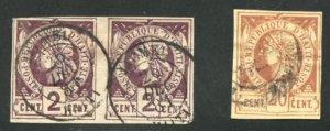 Haiti Scott 2(pair) & 6 - UVFH - SCV $40.00