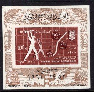 Egypt 528 Sports Souvenir Sheet MNH VF