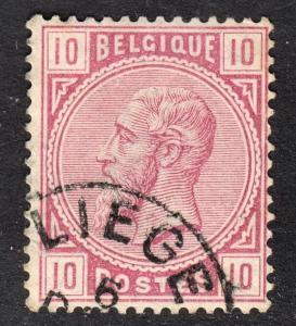 Belgium Scott 45  F+  used.