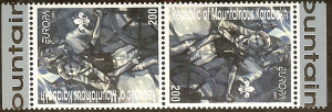 Armenia   Europa Cept 2007  MNH attached pair