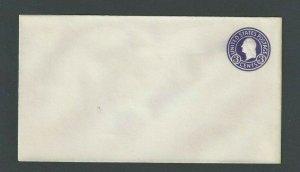 Ca 1932 U436E 3c Purple On White Mint Entire Die 146 Size 10