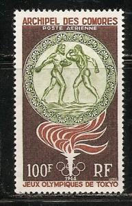 Comoro slands C12 1964 Olympics single MNH