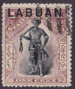 Labuan #72A Used