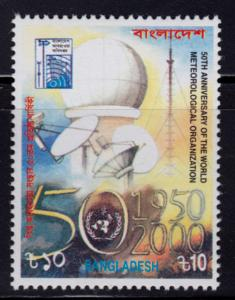 Bangladesh #606 Michel #723 MNH - Science Meteorology (2000)