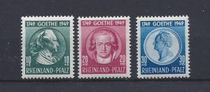 Germany(Rhine-Palatinate),6NB7-6NB9,Occupation Stamps Singles,**MNH**,(LL2019)#1