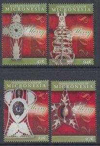 Micronesia 779-782 Christmas MNH VF