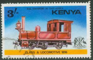 Kenya - 1976 - Scott # 67 - used - Locomotive