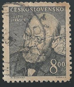 Czechoslovakia #379 8k Alois Jirasek