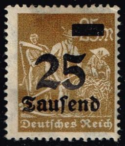 Germany #247 Farmers - Surcharged; Unused (0.25)