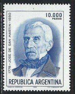ARGENTINA 1292 MOG Z3215
