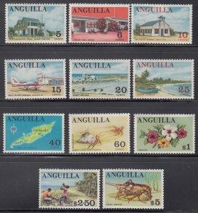 Anguilla, Sc 21-31, MNH, 1967, Short Set
