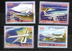 French Polynesia 897-900 MNH