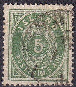 Iceland #16 F-VF  Used CV $14.00 (Z6447)
