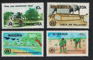 Nigeria Birds 10th Anniversary of UN Conference on Human Environment 4v