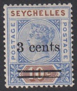 Seychelles 29 MVLH CV $3.50