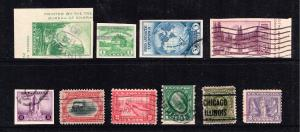 US STAMP # USED STAMP COLLECTION LOT