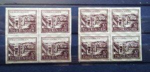 Germany Thuringen mnh