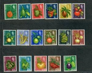 Montserrat Sc#159-175 M/NH/VF, Fruits, Cv. $29.35